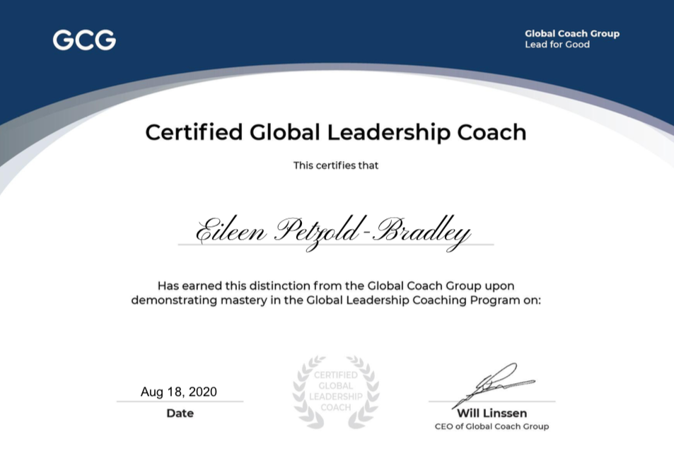 Marshall Goldsmith Certificate